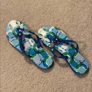 Coach Kerrie Flip Flops - Size 8